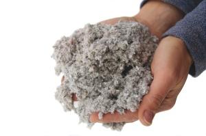 ouate de cellulose - dtour fond blanc